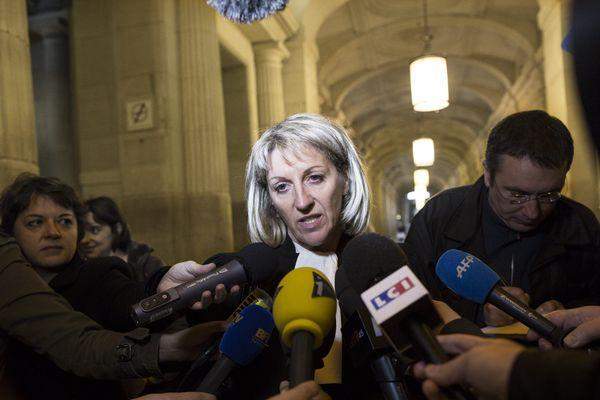 Me Maître Verdier au procès du Distilbene à Paris le 26 octobre 2012