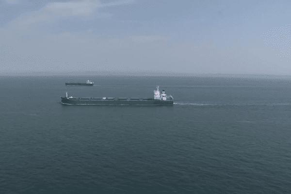En moyenne, 44.000 navires emprunte chaque année le rail de Ouessant, l'une des voies maritimes les plus fréquentées au monde