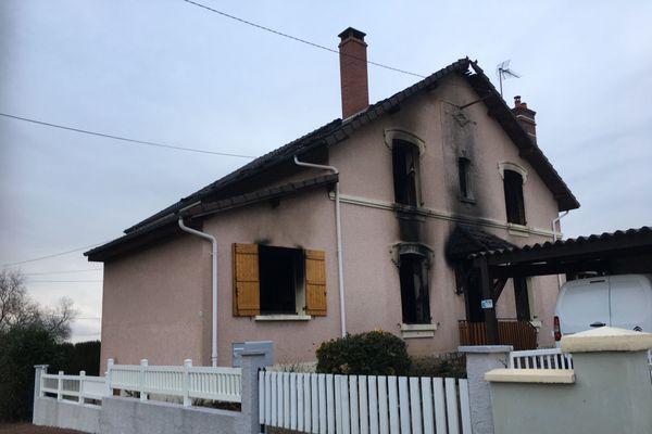 L'incendie d'une maison à Montceau-les-Mines le samedi 19 décembre a fait une victime