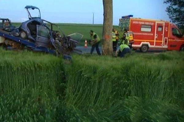 L'accident s'est produit sans témoin.
