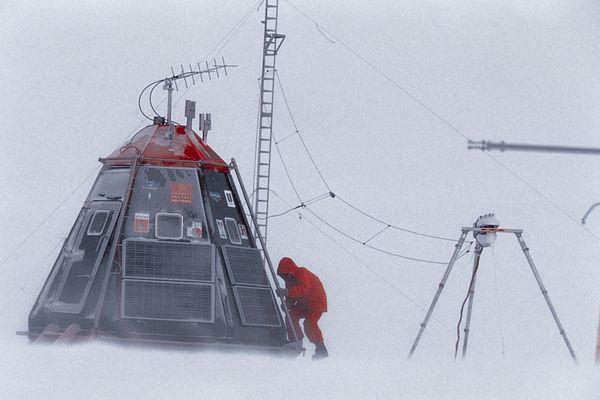 2004, mission banquise avec le Polar Observer.