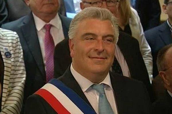 Frédéric Cuvillier renoue l'écharpe pour un troisième mandat de maire de Boulogne-sur-Mer
