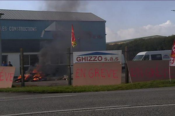 Une grève illimitée a débuté chez Ghizzo ce vendredi à Argentan