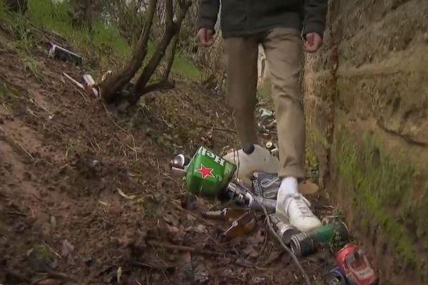 GreenR permet de géolocaliser les déchets, et d'organiser leur ramassage