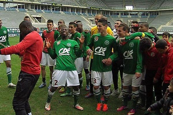 1/4 de finale Coupe Gambardella (Sedan/Toulouse)