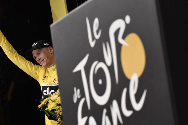 Chris Froome, vainqueur du Tour de France 2017