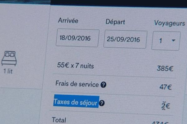 La taxe de séjour s'ajoute aux frais de service pour les clients réservant un logement Airbnb à Saint-Malo (35).