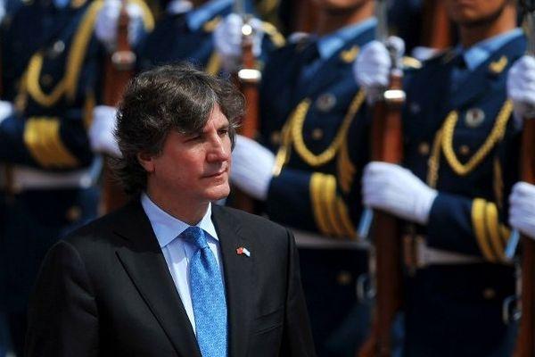 Amado Boudou, le vice-président de l'Argentine