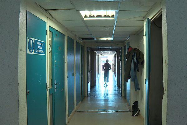 """L'ancien centre de vaccination Bertand Bouisson """"réquisitionné"""" était inutilisé depuis 10 ans dans le quartier Euromédecine à Montpellier."""