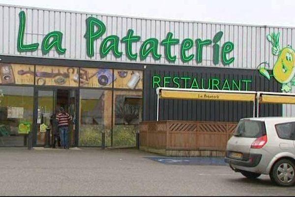 Le restaurant La Pataterie est basé en zone industrielle nord de Limoges