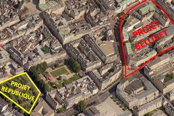 La Ville de Caen a lancé un appel à projets pour remodeler la place de la République et le secteur Bellivet