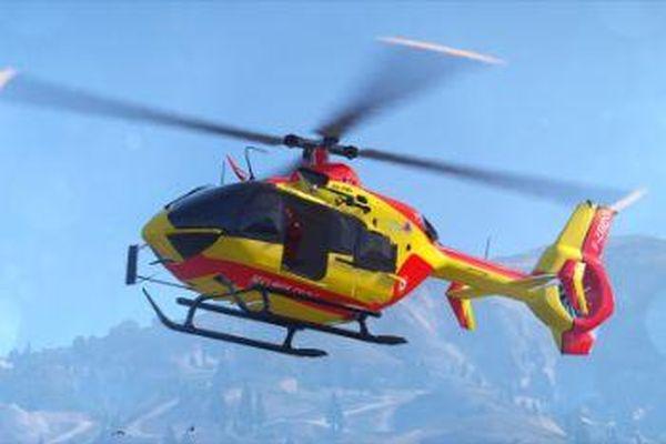 Dragon, l'hélicoptère de la Sécurité civile (photo d'illustration)
