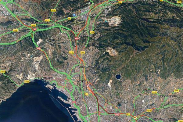 Circulation Marseille lundi 20 janvier à 7h30