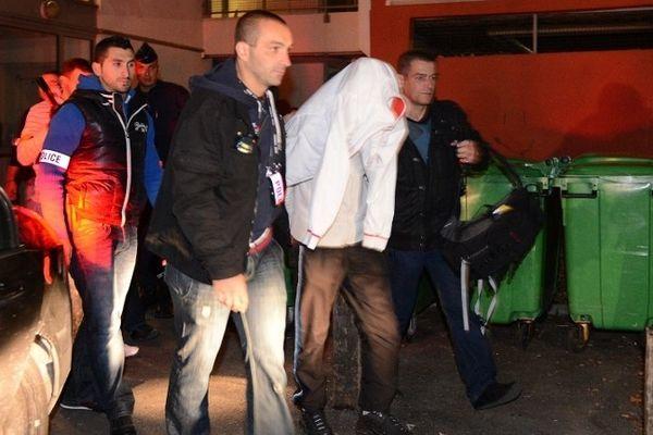 Dix personnes ont été interpellées ce matin dans le quartier de la Villeneuve.