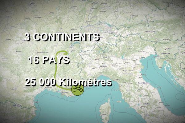 Au départ de la Normandie, Héloïse et Pauline préparent un tour du monde à vélo