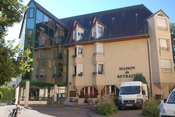 Cornavirus et confinement : l'ehpad Simon Bénichou à Nancy (Meurthe-et-Moselle) permet à ses résidents d'échanger via des tablettes avec leurs familles.