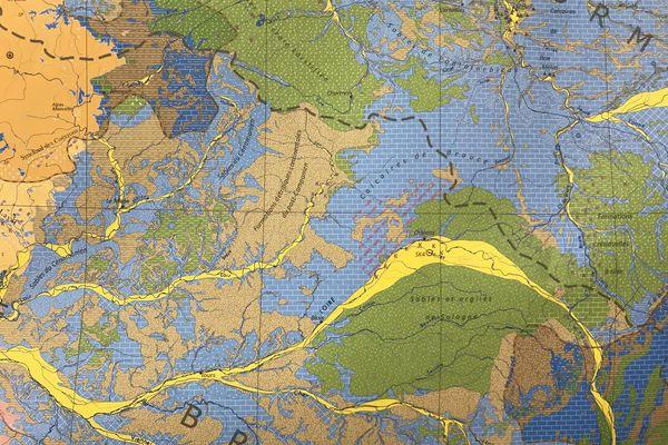 Carte de la météo des nappes en région Centre-Val de Loire