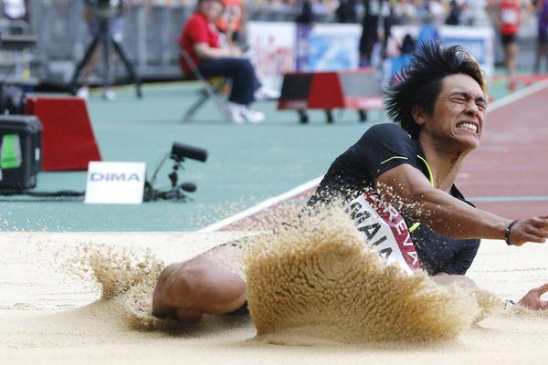 Raihau Maiau, licencié au club d'athlétisme de Balma, est devenu champion de France avec une longueur sautée de 8,22 mètres.