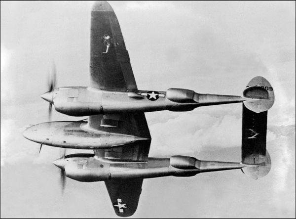 Lockheed P-38 Lightning du constructeur Lockheed.