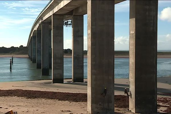 Le pont de Noirmoutier, un quinquagénaire à bichonner