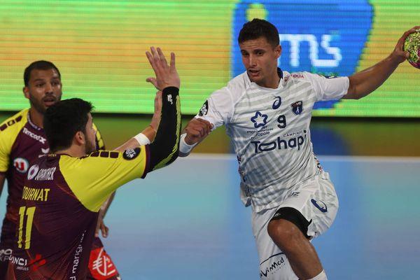Aymen Toumi, le 10 avril 2017 lors d'un match contre Nantes