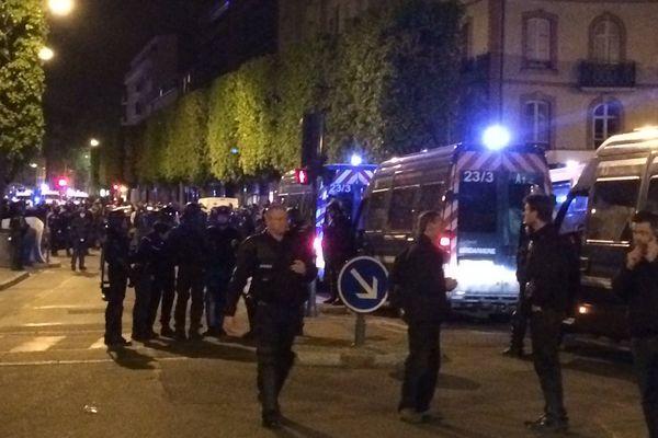 Quelques tensions à Rennes ce dimanche soir, lors d'une manifestation interdite