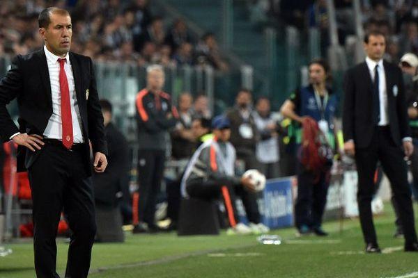 L'entraîneur de Monaco Leonardo Jardim.