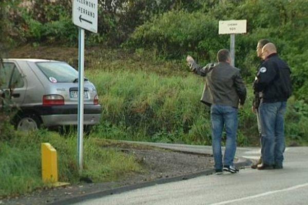 L'enquête du SRPJ de Clermont samedi matin Rue des Montagnards à Chamalières.