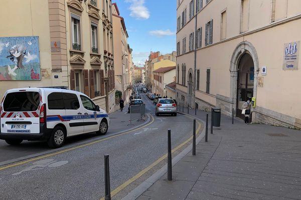 La police municipale est sur place