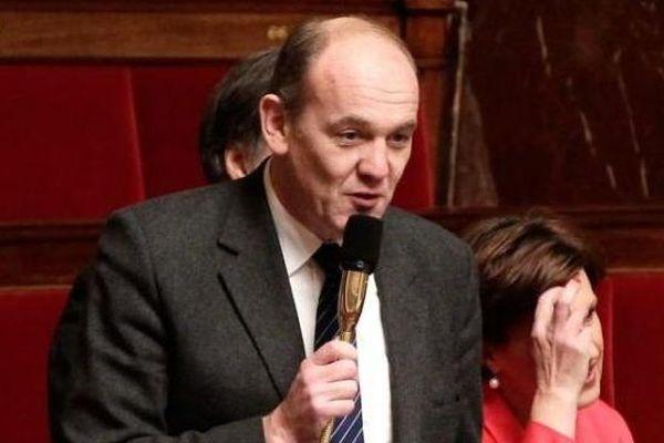Daniel Fasquelle à l'Assemblée Nationale, le 5 décembre 2012.