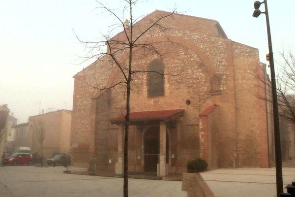 L'église de Saint-Laurent-de-la-Salanque - Pyrénées-Orientales - 2020.