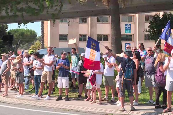 La manifestation a débuté aux alentours de 10h30 ce samedi matin.