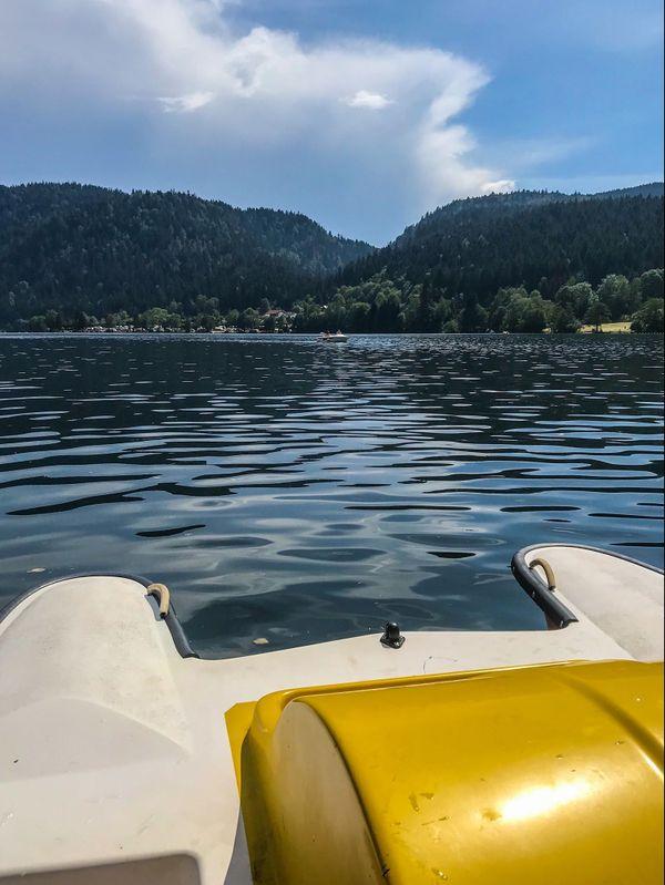 Lac de Xonrupt-Longemer dans les Vosges (88)