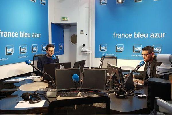 Depuis ce lundi 7 janvier suivez  france bleu azur matin en images et en son !