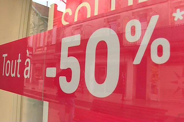 Durant les soldes, les commerçants sont autorisés à vendre à perte. Photo d'illustration.
