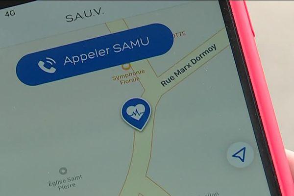 L'appli Sauv'Life permet de situer un défibrillateur et de venir en aide aux victimes d'un arrêt cardiaque...