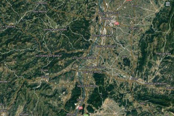 L'homme est hospitalisé en urgence absolue à Valence (Drôme)
