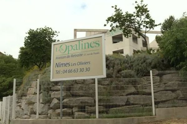 La maison de retraite de Nîmes, dans le Gard, contre laquelle une plainte pour maltraitance a été déposée - mai 2016