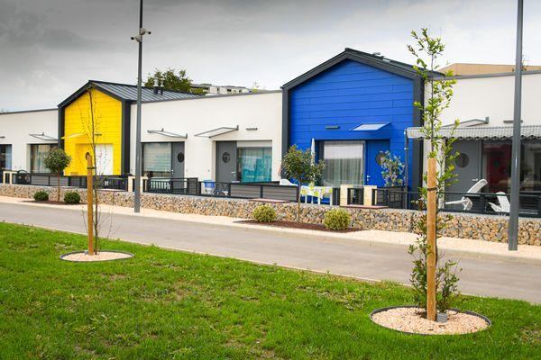 Inauguré en aout 2020, le clos Philipe Ricord accueille 40 locataires dans un environnement sécurisé accessible aux seules personnes autorisées.