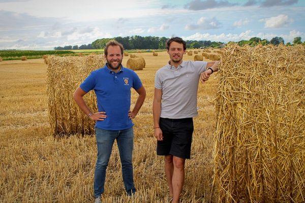 Thomas Camboulive et Baptiste Létocart sont les deux fondateurs de Farmr.