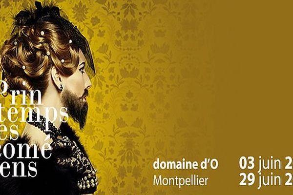 Affiche 2014 du 28e Printemps des Comédiens de Montpellier