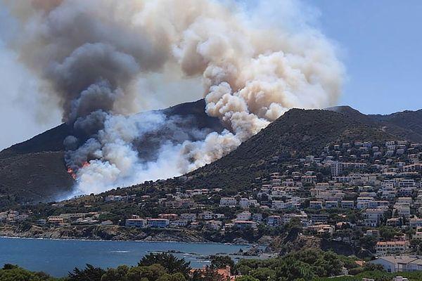 L'incendie du Cap de Creus, à la frontière franco-espagnole est désormais maîtrisé - 17 juillet 2021.