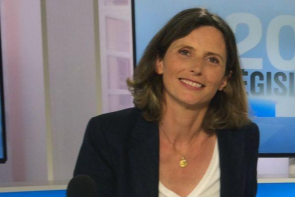 Emmanuelle Ménard (FN-Debout La France-MPF), députée de la 6e circonscription de l'Hérault.