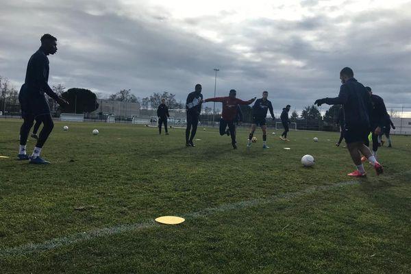 Le club d'Andrézieux-Bouthéon a pu continuer à s'entraîner grâce à son fonctionnement professionnel