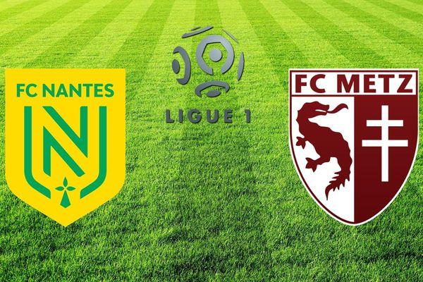 Avant la rencontre ce samedi entre le FC Nantes et Metz les deux équipes se classent respectivement 12ème et 16ème de Ligue 1.