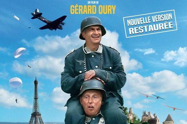 """La comédie """"La Grande Vadrouille"""", tournée en 1966 par le réalisateur Gérard Oury, est l'un des films préférés des Français."""