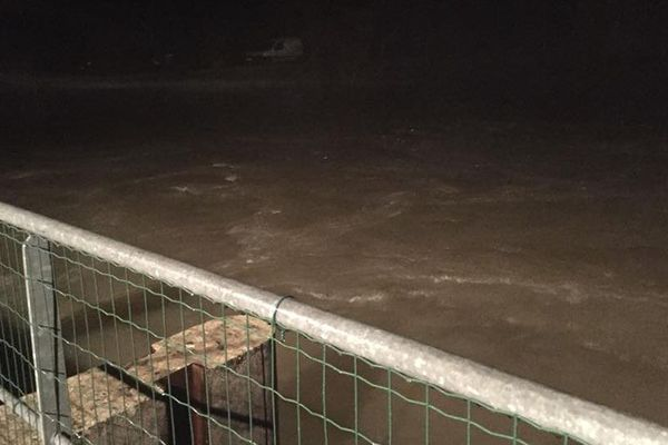 Inondations proches sur le commune de Brangues