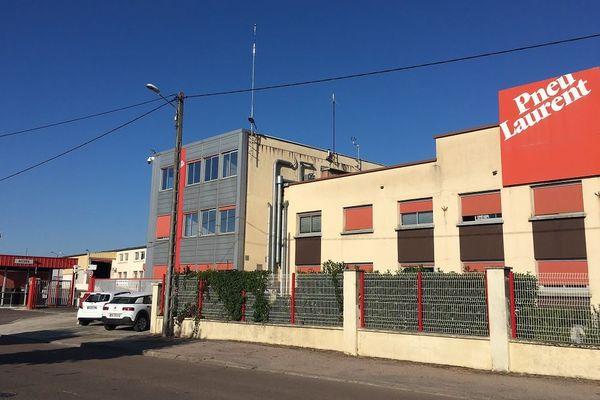 Le site d'Avallon, qui abrite la société Pneu Laurent, filiale du groupe Michelin, emploie 415 salariés