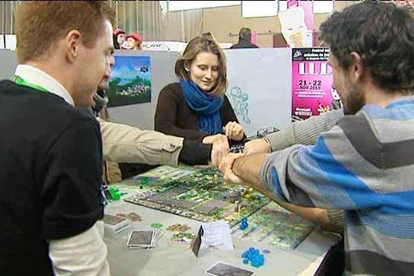 Ludix est une manifestation unique en France, où le public peut découvrir des jeux de société inédits.