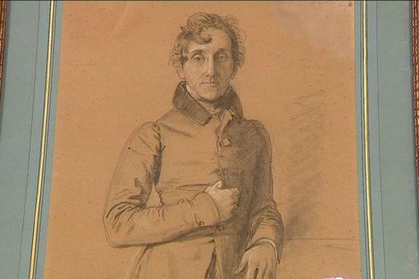 Le Comte Molé était secrétaire d'Etat au XIXème siècle et a été immortalisé par Ingres en 1833.